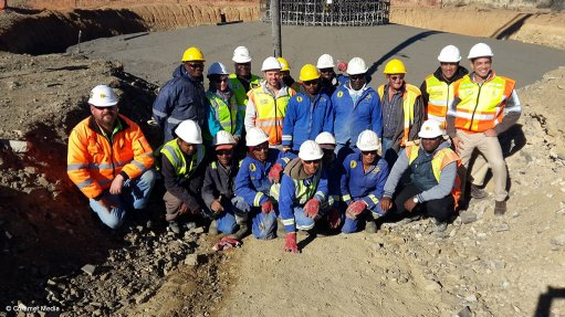 Loeriesfontein wind farm turbine foundations completed on schedule