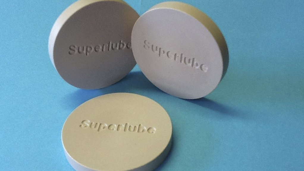 SUPERLUBE COMMERCIALISED  Superlube is being considered for various applications, such as propellers, high-end yacht fittings and turbines in the renewable-energy market