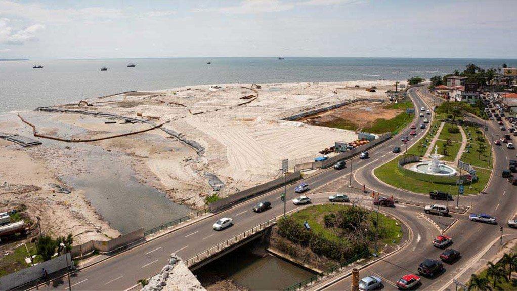 INFRASTRUCTURE DEVELOPMENT Construction of infrastructure across Gabon will continue under Bechtel supervision