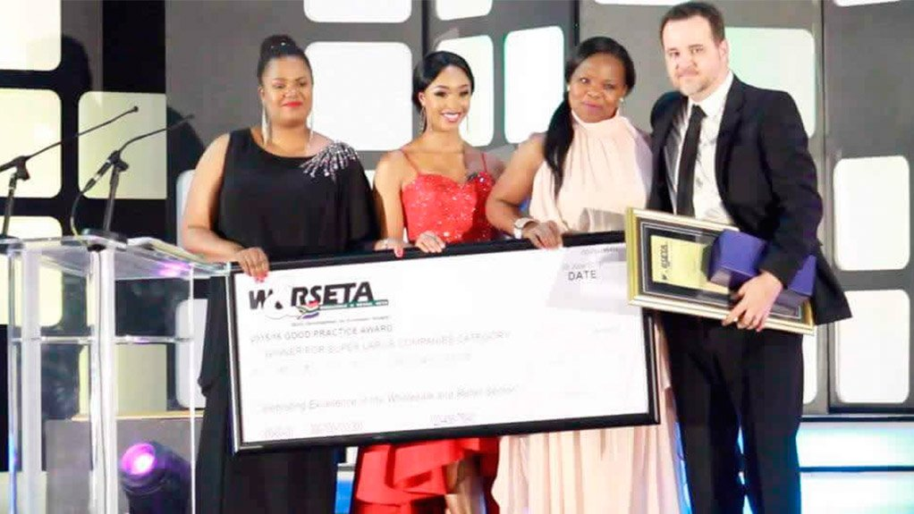 Woolworths wins Wholesale and Retail SETA Good Practice Award