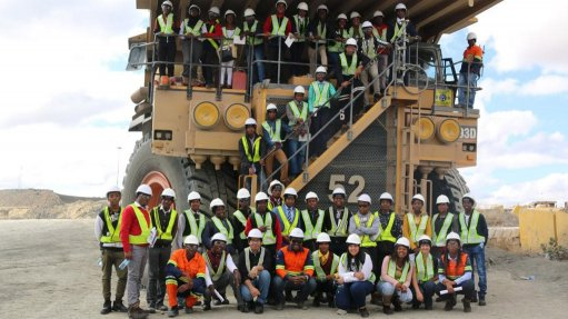 41 enthusiastic young learners and aspiring professionals visited De Beers...