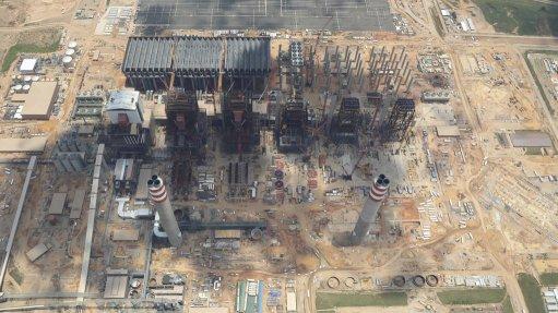 MEDUPI POWER STATION Unit 5 at Medupi first fired on oil in June