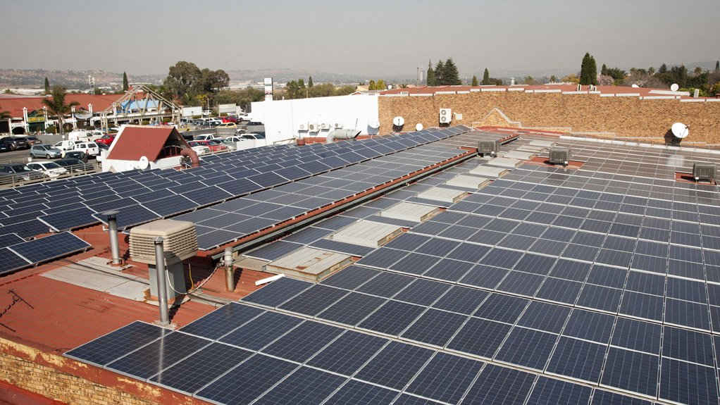 KARAGLEN SHOPPING CENTRE The installation of 1 250 units of solar modules at the centre in Edenvale is one of the biggest solar projects of its kind completed in Gauteng to date