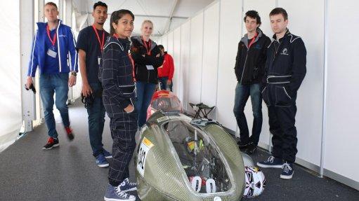 UJ student-designed electrical car in top 15 at Eco-Marathon Europe