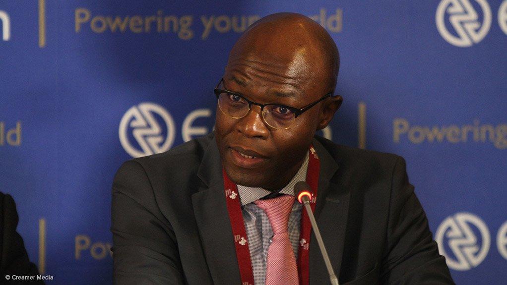 Eskom group executive for generation Matshela Koko