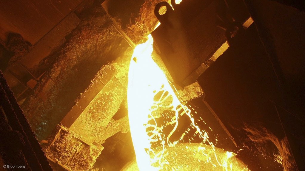 BLAST FURNACES A major environmental project was completed to install a dust-collecting system that improves working conditions for the blast furnace workers