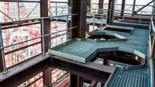 Africa's largest gratings, handrail and stair tread contract successfully completed