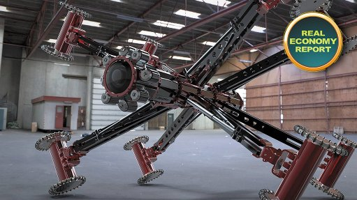 South African inspection robot attracting international interest