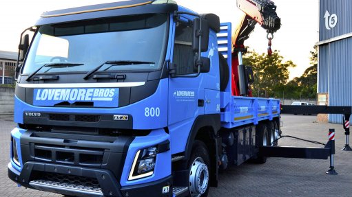 New crane truck  launched at open day