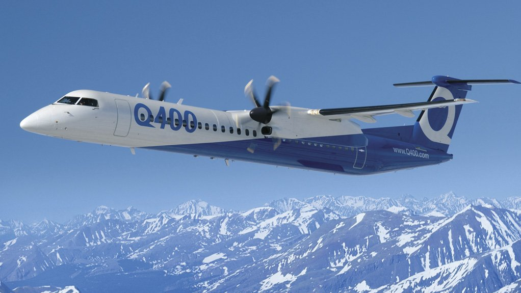 VERSATILE AIRCRAFT The Q400 aircraft is exceptionally versatile and can be adapted to a variety of business models