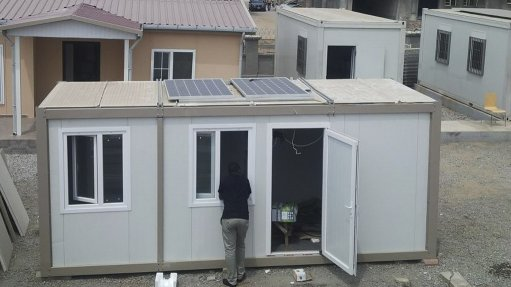 Solar solutions power up prefabricated housing
