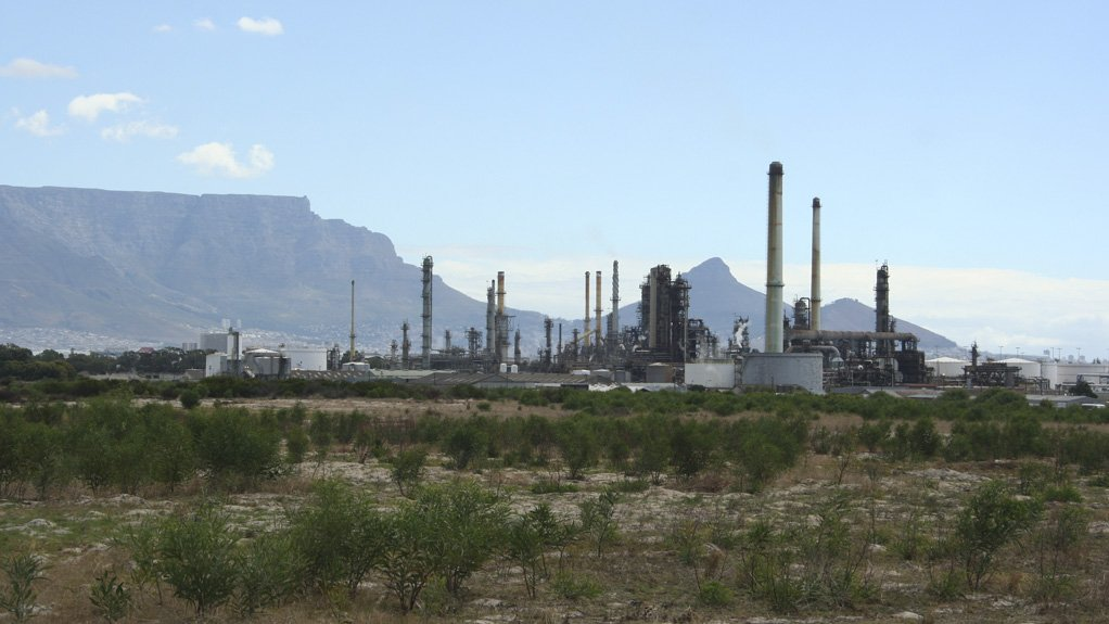 CHEVRON OIL REFINERY The refinery produces petrol, diesel, jet fuel, liquefied petroleum gas and other specialty products for South Africa