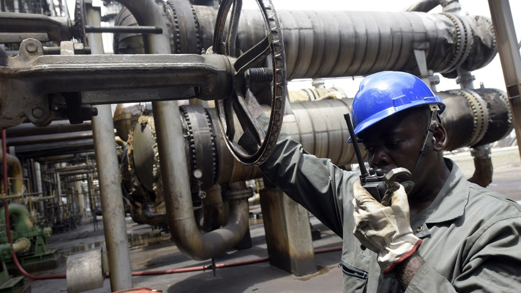 OIL ON TAP Two Nigerian refineries and a pipeline were brought back online to address the country's petrol shortage