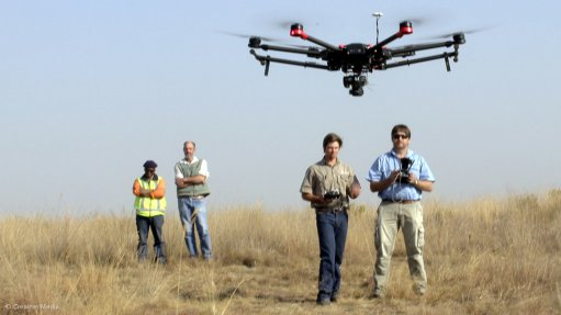 Drones offer significant benefits for mine surveying and analysis