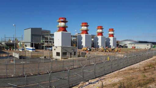 The Avon peaking power plant