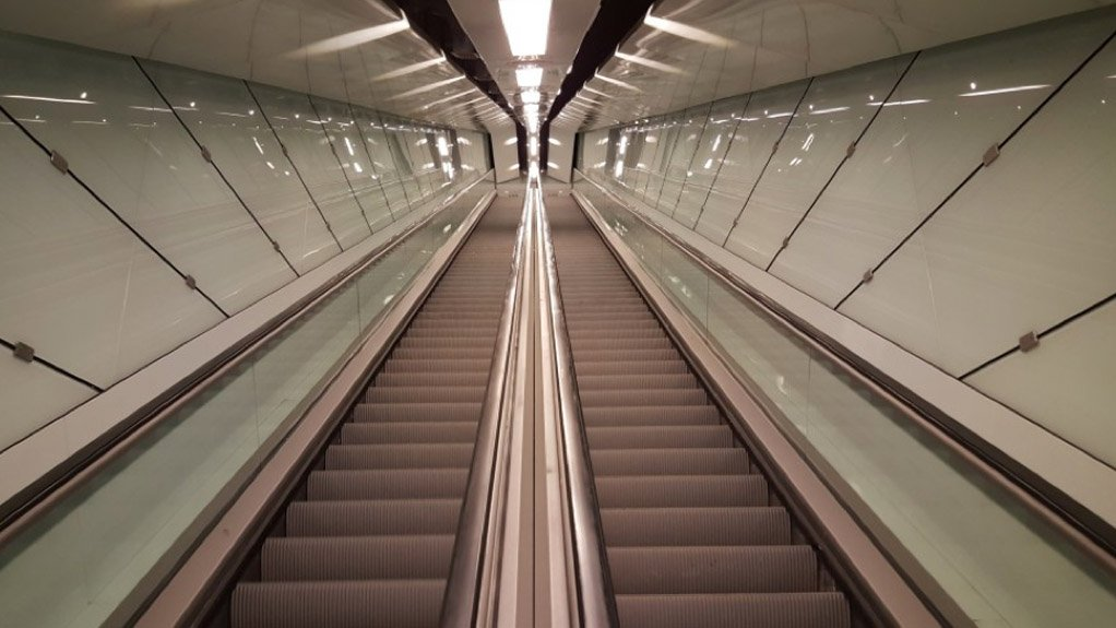 ESCALATOR INSTALLATIONS Thyssenkrupp will be installing new elevators and escalators throughout Doha's upcoming metro network