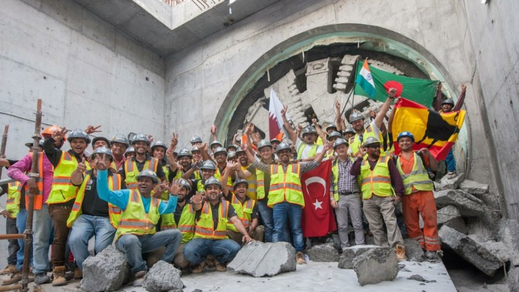 INTEGRATED RAIL PROJECT The Qatar integrated rail project also includes plans for a light rail transit system