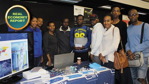 Career day exposes high school and undergrad interest in science and technology