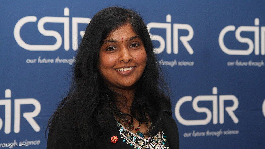 CSIR novel laser sources group senior researcher Ann Singh