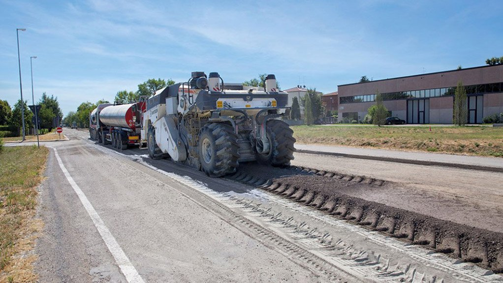 CUTTING TOOLS  Tools from Wirtgen ease the flow of reshaping roads