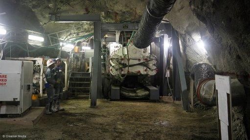 Horizontal raiseboring at Cullinan mine  outperforms traditional methods