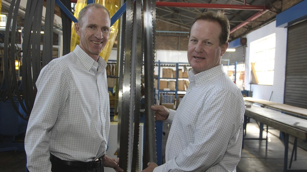 MANAGEMENT FOCUS First Cut CEO Ian McCrystal and MD Andrew Poole are focused on building stronger ties with customers to assist in growing their businesses