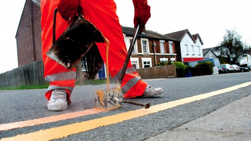 DANGERS UNDERFOOT  Friction caused by vehicles tyres erodes the lead paint, which could result in pedestrians or drivers inhaling minuscule amounts of lead particulates