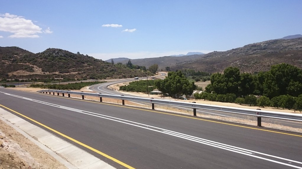 NEW & IMPROVED The R400-million N7 upgrade was carried out on a 27.7 km portion of road between the Western Cape towns of Citrusdal and Clanwilliam