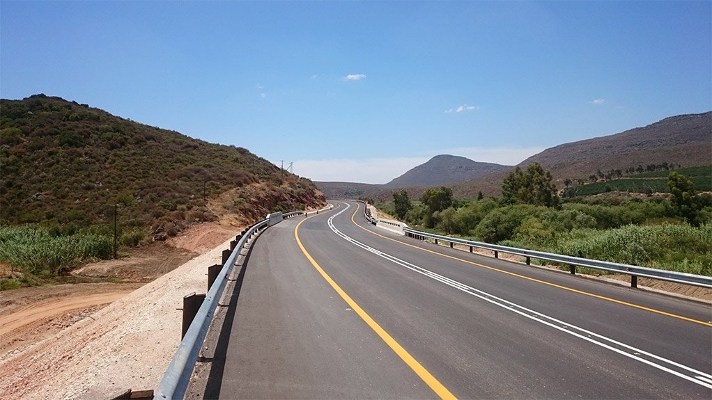 CAUTION  CURVES AHEAD  Challenges pertaining  to the country's economy, government funding and  public procurement has made it increasingly more difficult to develop road infrastructure