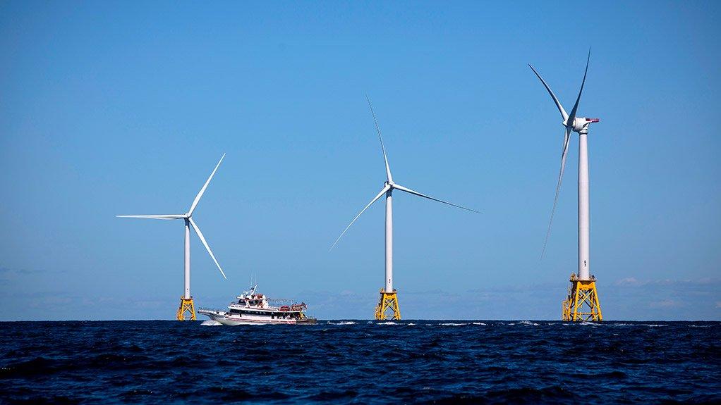 OFFSHORE WIND FARM  The Block Island wind farm is a landmark project in the US renewable energy market