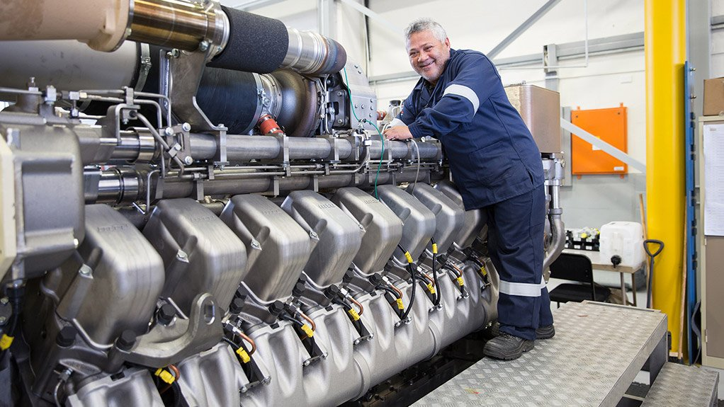 Rolls-Royce rolls out MTU South Africa's upgraded facility