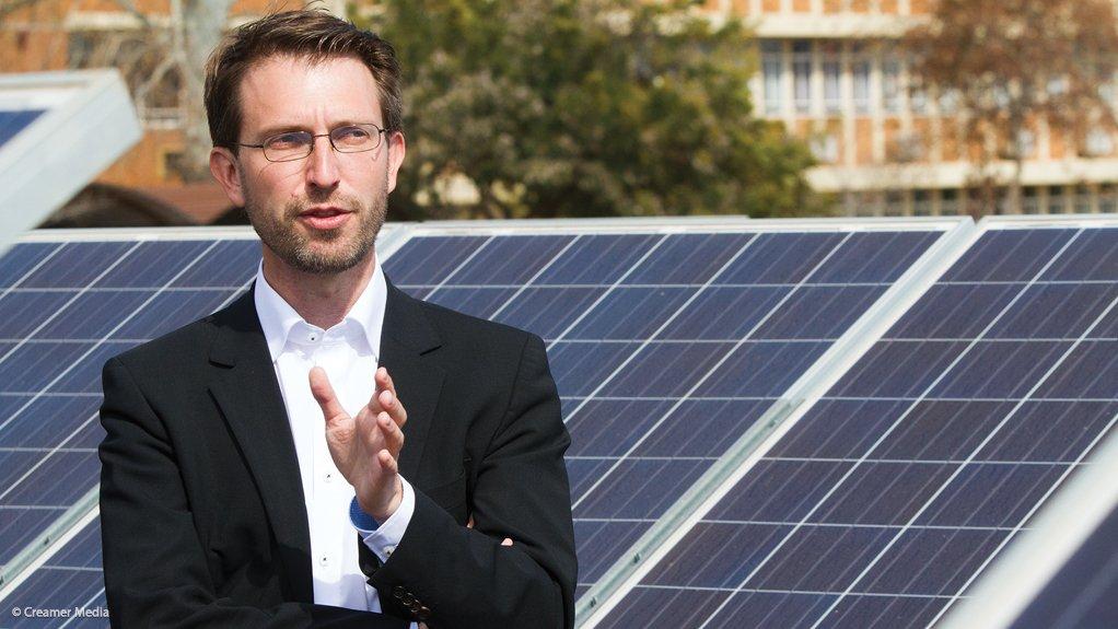 CSIR Energy Centre head Dr Tobias Bischof-Niemz