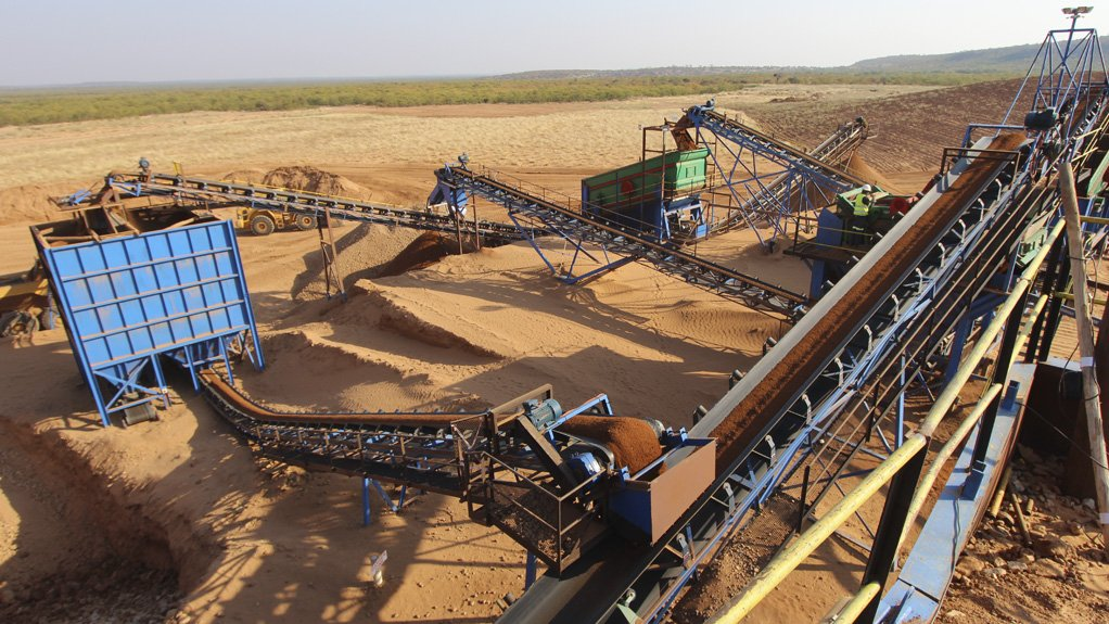 KRONE-ENDORA, DRY-SCREENING PLANT The project is opencast, employing low-cost strip-mining methods and has the potential for an initial 15-year operational lifespan
