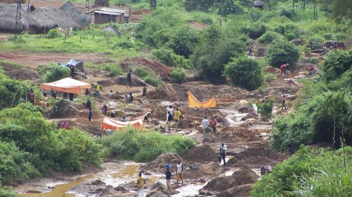 Importance of  artisanal mining increases in DRC