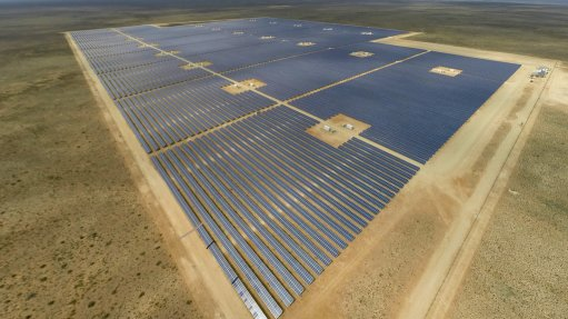 86 MW Northern Cape solar photovoltaic plant  connected to national grid