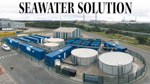 Desalination helps South32's KZN aluminium smelter beat water woes