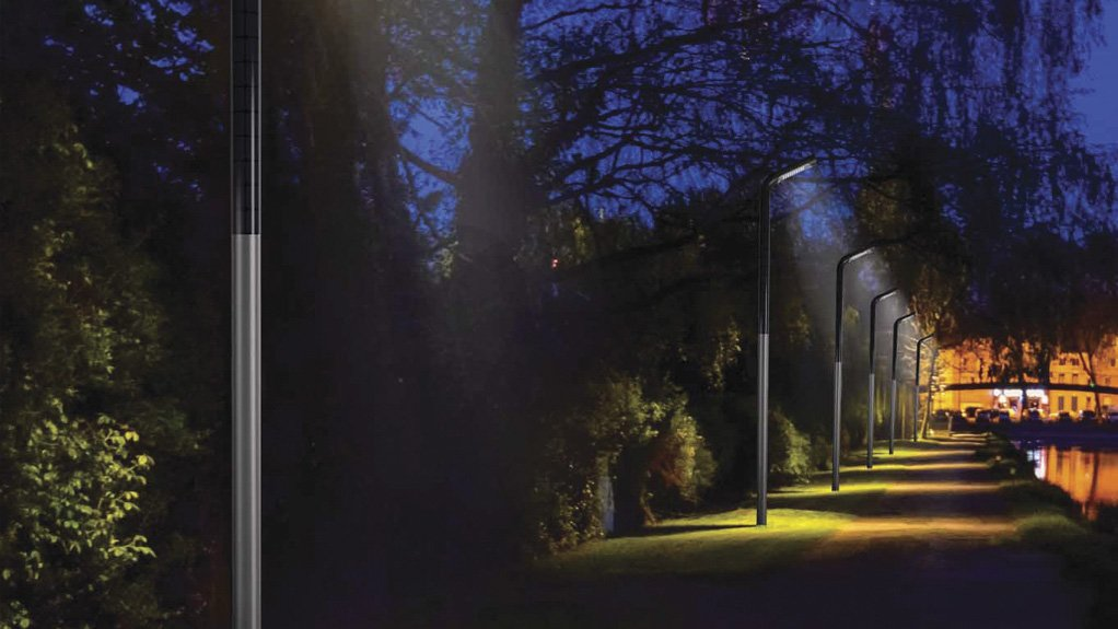 ENERGY CONSERVATION  Solar street light poles offer energy conservation on streets, highways, pedestrian walkways, jogging paths and on housing estates