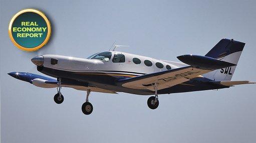 The Pretoria-based Falcon 402 aircraft programme