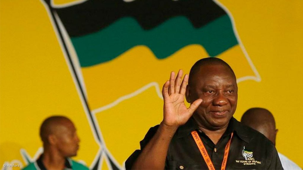 Ramaphosa on the campaign trail in George