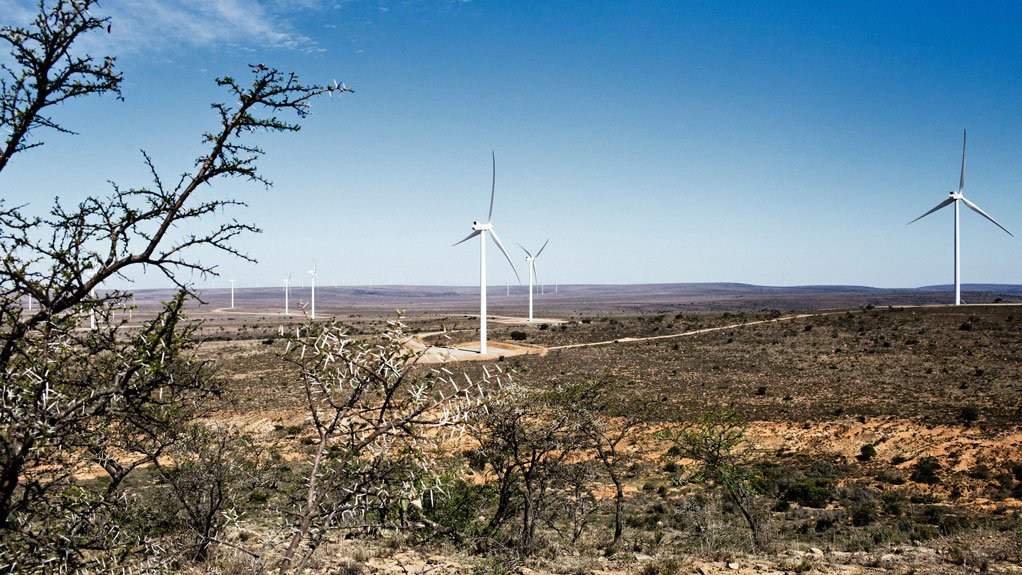 NOJOLI WIND FARM Enel Green Power's global renewable energies division completed more than 470 MW of solar and wind projects locally, including the 88 MW Nojoli wind farm