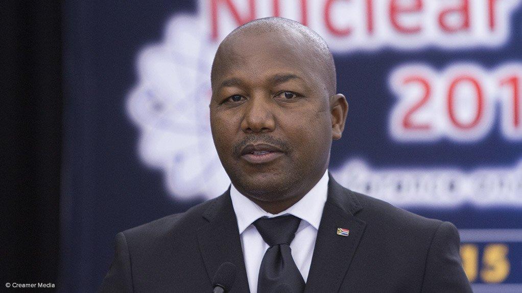 Necsa CEO Phumzile Tshelane
