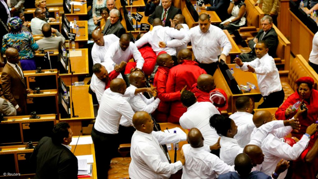 EFF, Madisha removal during Sona referred to rules committee