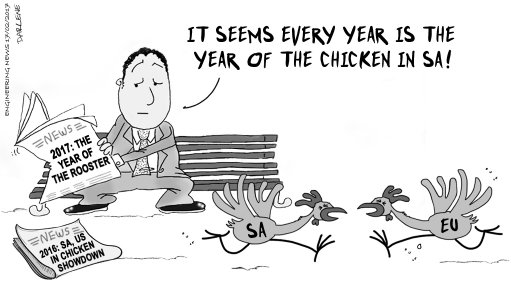 YEARS OF THE CHICKEN