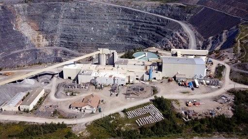 Mining Weekly - Porcupine mine, Canada