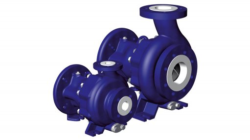 Pumps range optimal  for conveying  acidic substances