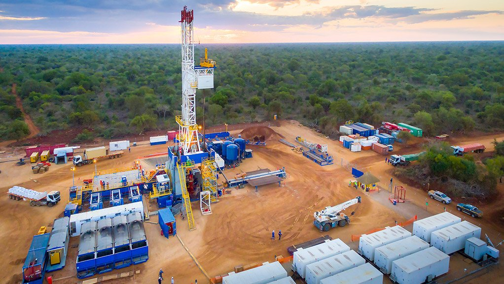 Drilling in Mozambique