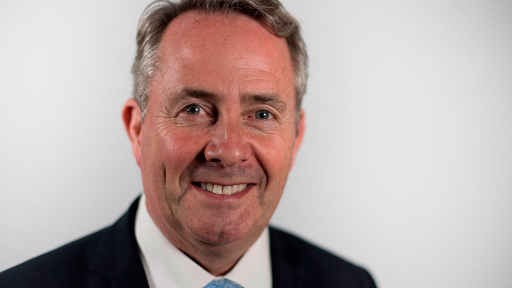UK Secretary of State for International Trade Dr Liam Fox