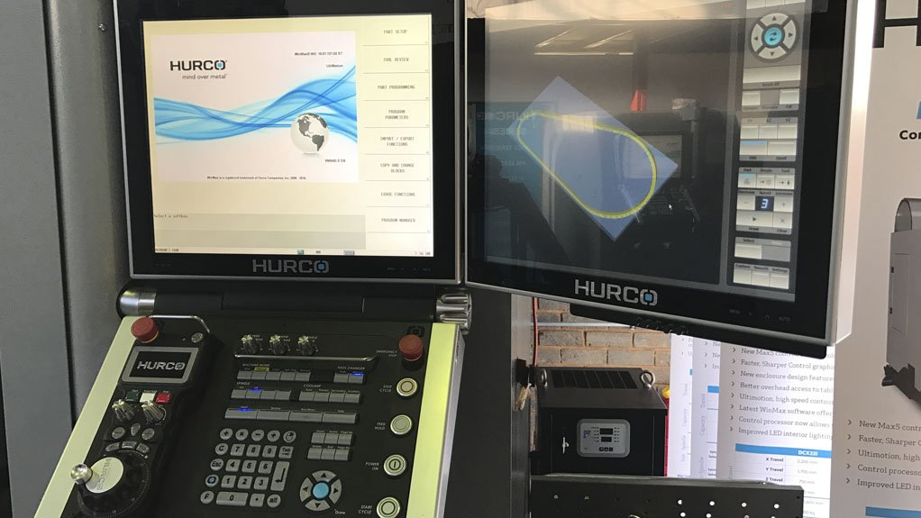 CONTROL The Max5 control system enables operators to easily make changes if required