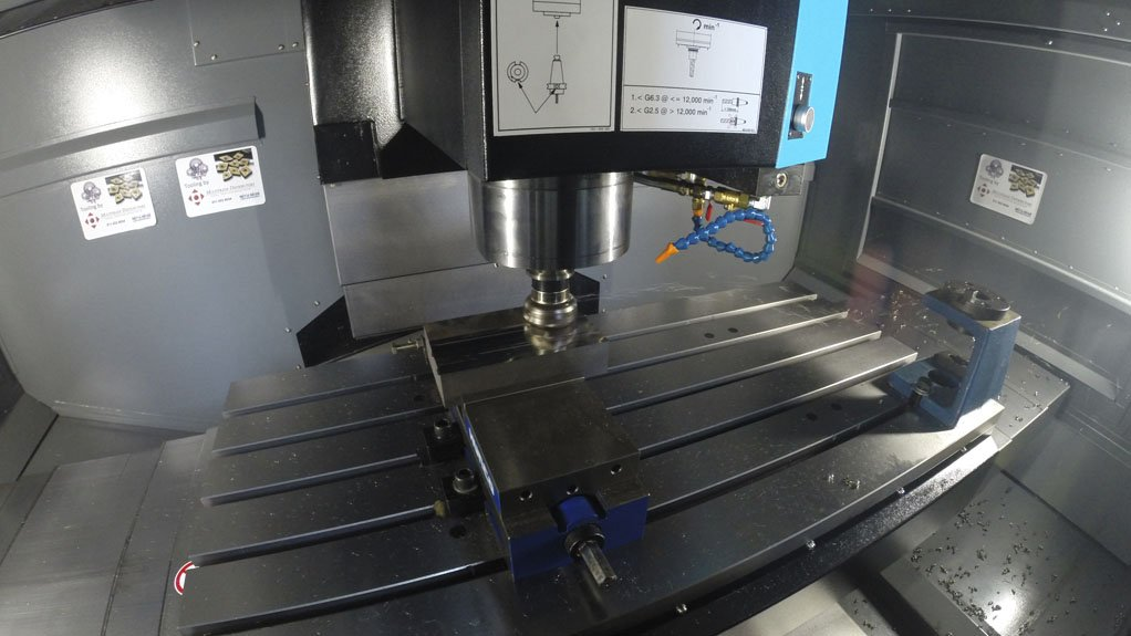 HIGH SPEED MACHINING The Hurco controls enable the machines to complete projects faster
