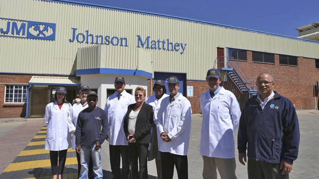 JOHNSON MATTHEY FACTORY Johnson Matthey South Africa joined a flagship energy-management project of the National Cleaner Production Centre of South Africa
